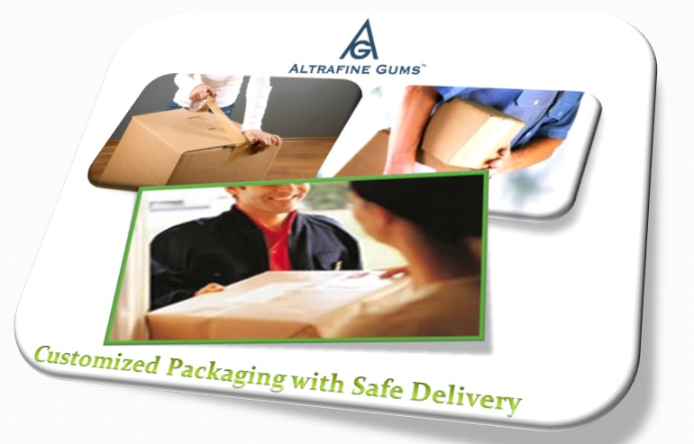 Customized Packaging and Safe Delivery by altrafine