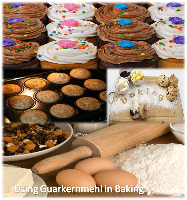 Using Guarkernmehl in Baking