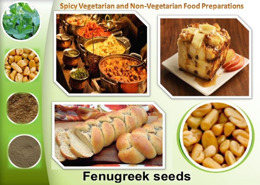 Fenugreek Gum Powder - Spicy Vegetarian and Non-Vegetarian Food Preparations
