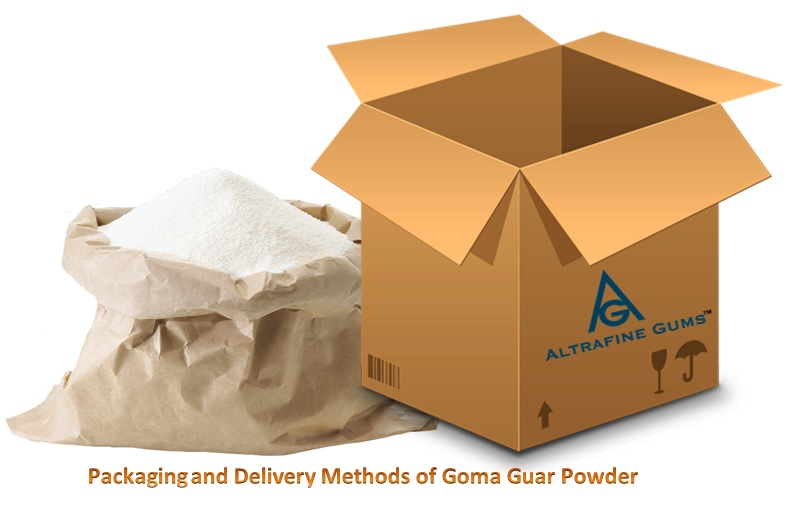 Packaging and Delivery Methods of Goma Guar Powder