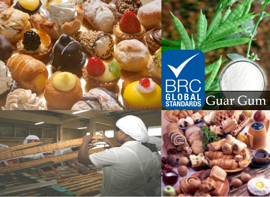 Proficiency of BRC Certification on Guar Gum Relating To Baking Sector