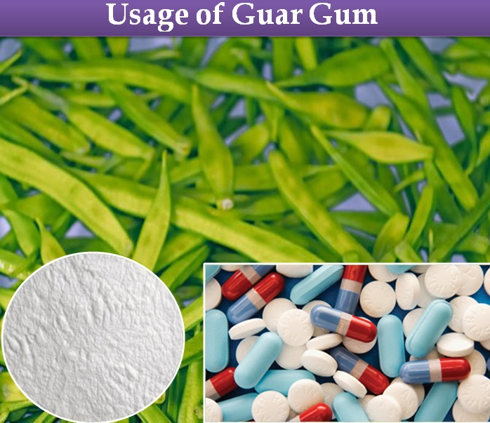 Therapeutic Usage of Guar Gum Powder