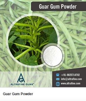 guar gum powder in India