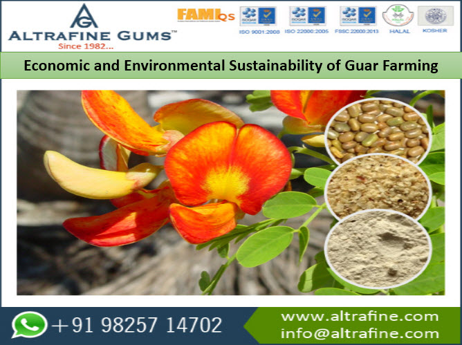 Environmental Sustainability of Guar Farming
