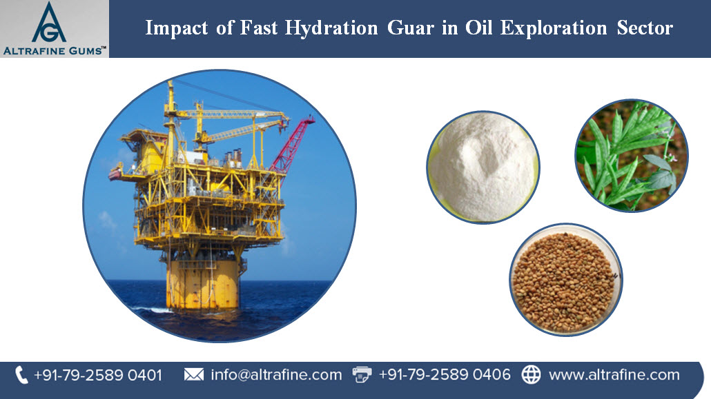 Impact of Fast Hydration Guar in Oil Exploration Sector
