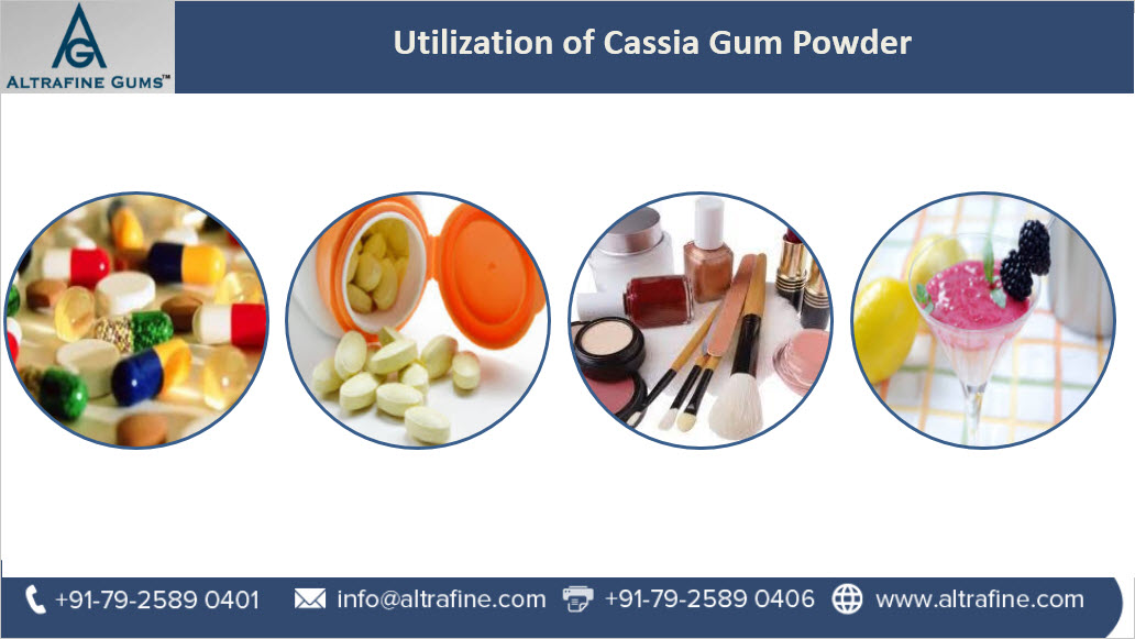 Utilization of Cassia Gum Powder