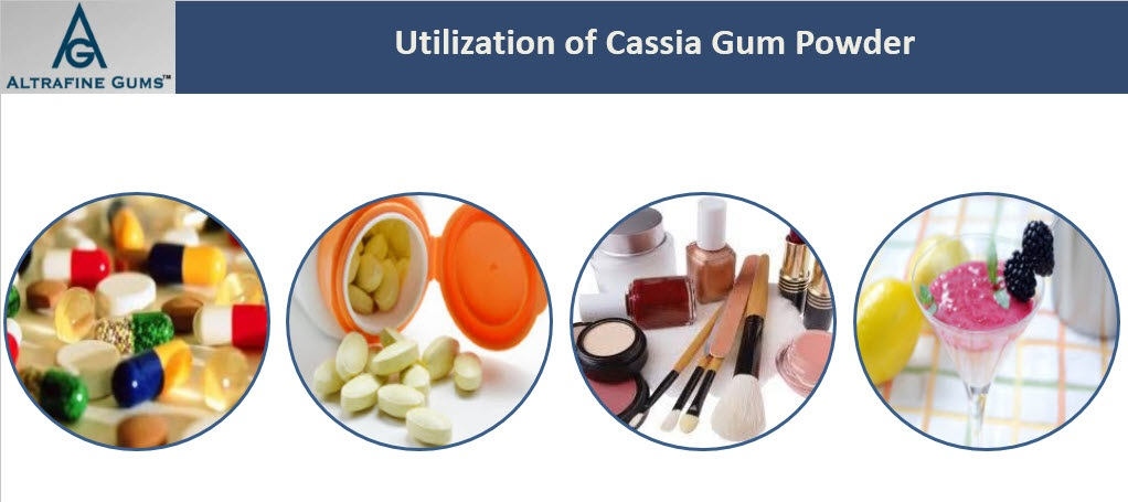 cassia powder in cosmetic industry