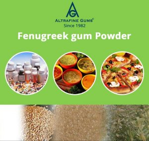 Growing Demand of Fenugreek Gum Powder