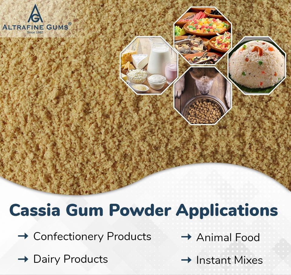 Cassia Gum Powder Applications