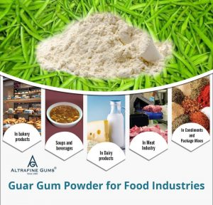 Guar Gum Powder for Food Industries