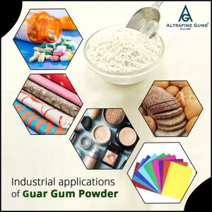 Industrial Applications of Guar Gum Powder
