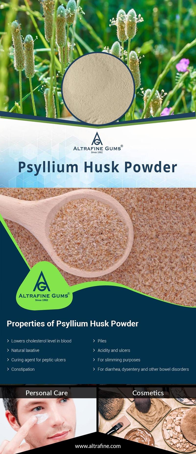 Psyllium Husk Powder Applications in Cosmetic Industry